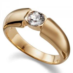d9caf3cc1 Prsten s krystaly Swarovski Oliver Weber Solitaire Gold 41001