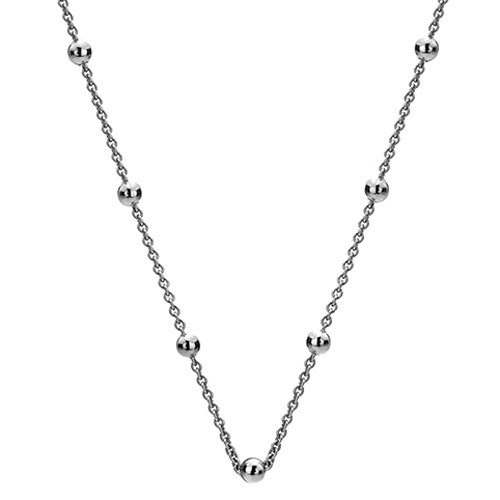 Stříbrný řetízek Hot Diamonds Emozioni Silver Cable with Ball Chain 18