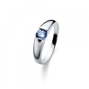 Stříbrný prsten se zirkony Swarovski Oliver Weber Tender Blue a7dd58c880c
