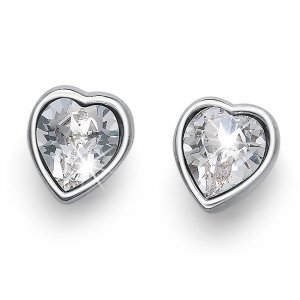 Náušnice s krystaly Swarovski Oliver Weber Luv crystal d0511f5a850